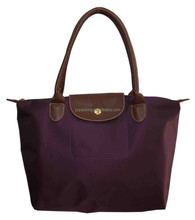 Pu Leather Purple shouldered shopping Tote bag for Women Wholesale 2015