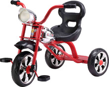 2016 New cheap tricycle with light and canopy CE standard baby tricycle with music