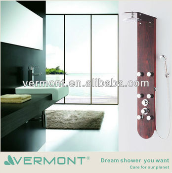 Luxury Durable Cheap Shower Column With Jets