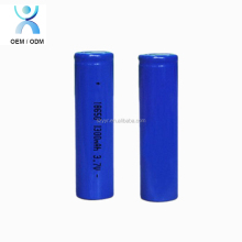 Factory wholesale li-ion 18650 1300mah 3.7v rechargeable battery