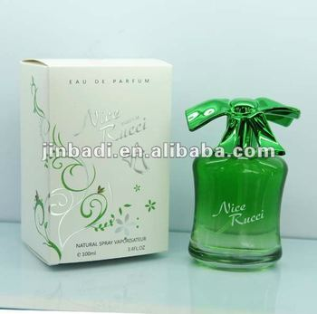 100ml high quality green Eau De Parfum branded perfume,perfume cosmetics