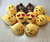 High Quality Cheap Custom Plush Slipper Factory Custom Adult Kids Plush Emoji Slippers Whatsapp Emoji Slippers
