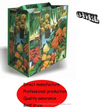 laminated non woven foldable tote bag