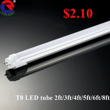 LED wholesalers Brightest 20 Watt 4-foot T8 LED Tube Light 45W Fluorescent Tube Replacement
