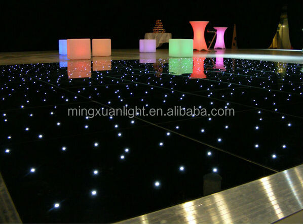 Wireless star light up starlit portable led dance floor