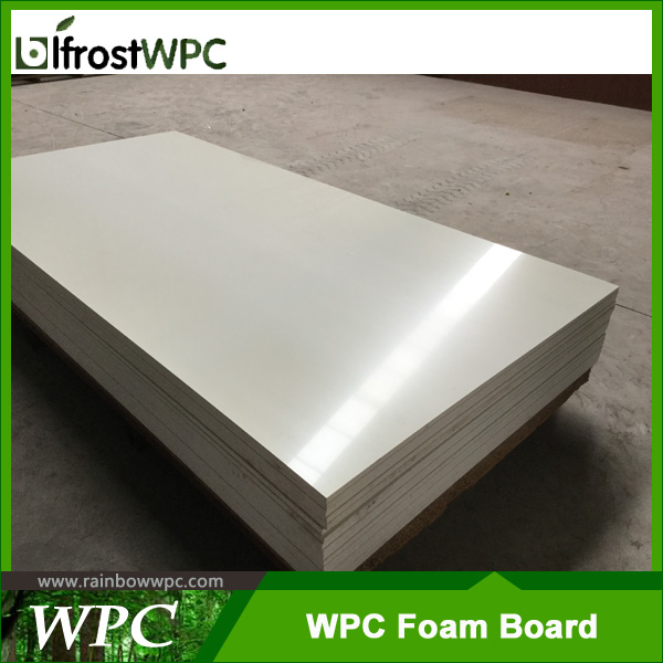 008 Recycle materials PVC /WPC celuka foam Board/Sheet for construction