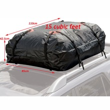 Amazon Gold Supplier Hot Sale Waterproof Roof Top Cargo Bag for Self-driving Travel