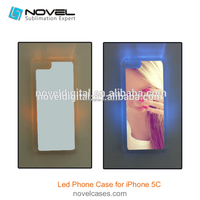 Wholesale New Diamond Sublimation Phone Case for iPhone 5C, sublimation bling phone case for 5C