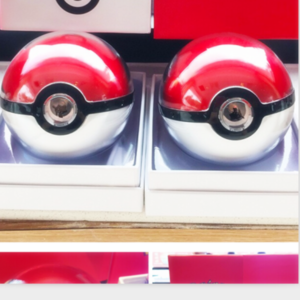 Hot wholesale USB external disposable power bank pokemon pokeball power bank with fast delivery
