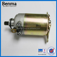 Scooter starting motor GY6 125, engine part scooter starter motor, hot sell motorcycle starter motor GY6 125