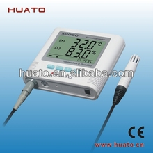 portable temperature and humidity meter
