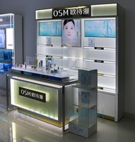 jewelry cosmetic shop counter design