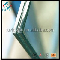 6 38mm Clear Laminated Glass