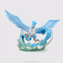 Gzltf Wholesale Japanese Anime pokemon Figure Articuno PVC Action Figure Cartoon Doll Model Collection