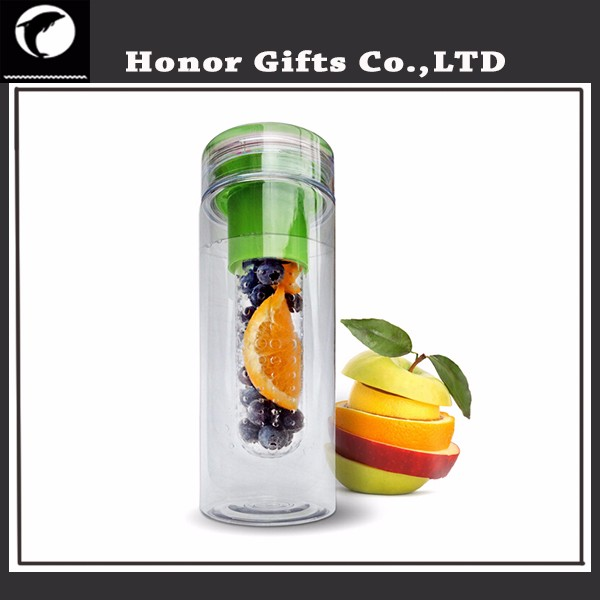Sports Leak-proof Food Grade High Quality Fruit Infuser Water Bottle BPA Free