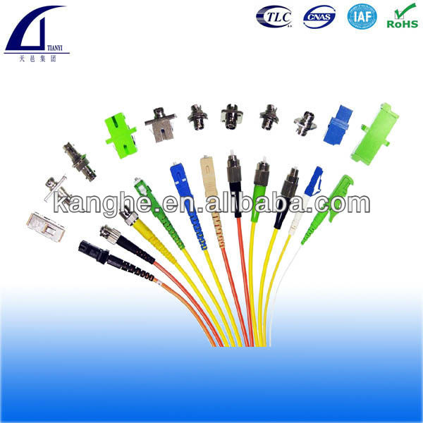 Fiber Optic Patch Cord/jumpers/pigtails 0.9mm/2mm/3mm FC/SC/LC/ST/MU/E2000 PC/APC/UPC