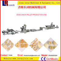 Potato Snacks Food Frying Processing Line