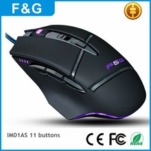 Latest Computer Accessory USB Wired Gaming Mouse with OEM Service