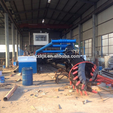 Diesel Engine New Hydraulic Cutter Suction Dredger Sale