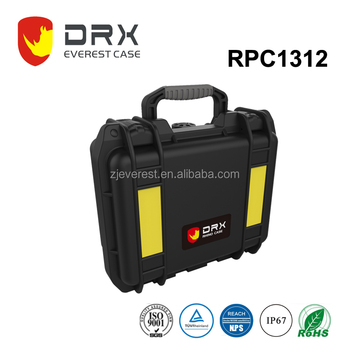 Gold supplier IP67 Waterproof plastic equipment traveling cases