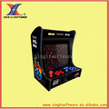 19 inch LCD Mini (Horizontal) Cocktail Machine With 1057games /mini bartop arcade machine