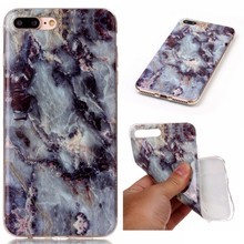 New Marble Skin Soft Silicone TPU Smooth Protective Mobile phone case For apple iPhone 7