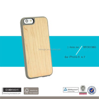 OEM Manufacturing laser engraving ultra-thin hard shell tpu mobile case cover case wooden for iphone 6s case