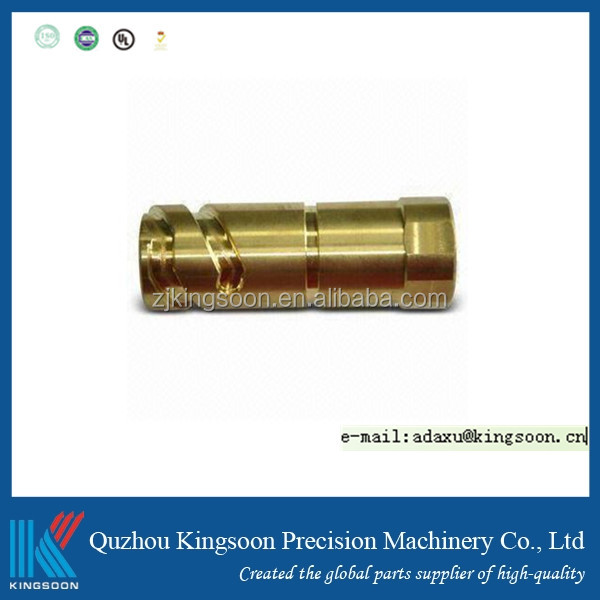 oem odm auto precision turning milled part customized thread rod shaft