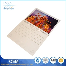 Best Quality designs printing folding desk calendar