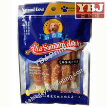 custom safety snack food packaging bag food packaging nylon bag PET bag