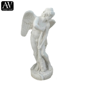 Small Marble Garden Angel Statues Small Marble Garden Angel Statues