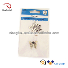 decorative metal trees and butterfly european wholesale charms