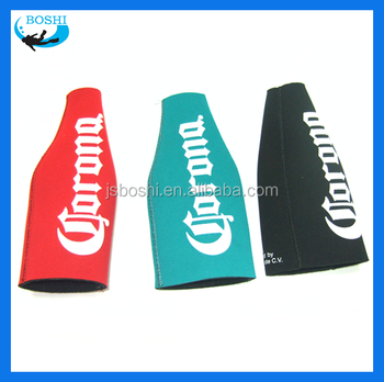 high quality hot water neoprene beer bottle cover 3mm