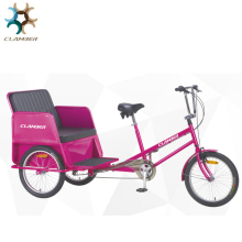 20 Inch 6 speeds cheap pedal rickshaw/manpower pedicab for sale/