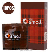 Small 45mm Tight Tiny Condom 10PCS Latex High Quality Condoms Adult Sex Toy