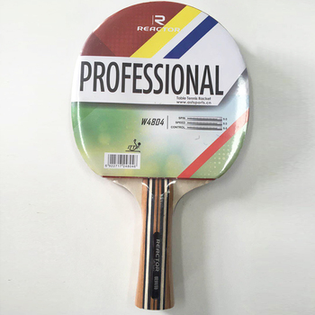 Four star Reactor table tennis racket for children
