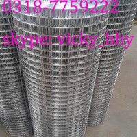 Heavy gauges large openings galvanized welded wire mesh