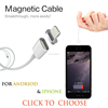 2016 Newest Magnetic 8 Pin Port Micro USB Data Charging Cable Data Line For iPhone 5 5S 6 Plus 6S iPad 4 5 mini Air2