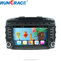 Android 2 din touch screen indash 8 inch car radio for Sorento navigation