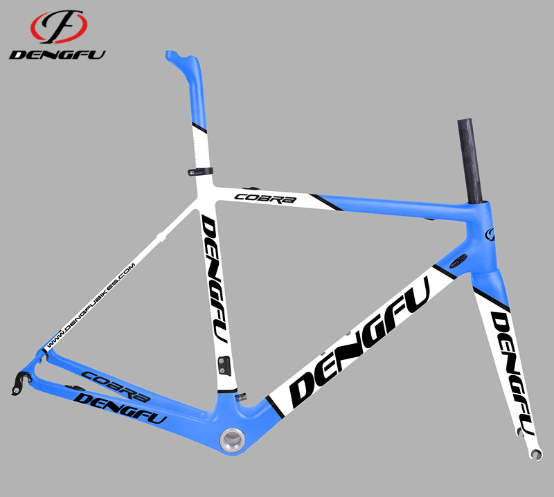 2017 deng fu bike Di2 compatible popular and cheap carbon+road+bike+frame for sale