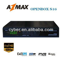 New arrival satellite receiver Openbox S16 with FULL HD-1080P, Ali3606C