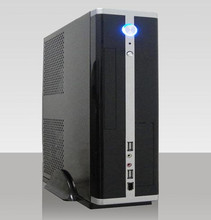 powercase industrial computer case mini tower case with aluminum material personal computer thin client mini itx chassis