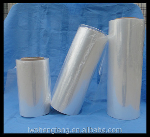 12 X 5000' Center Folded Standard pof Shrink Film