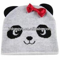 adult animal knitted hat