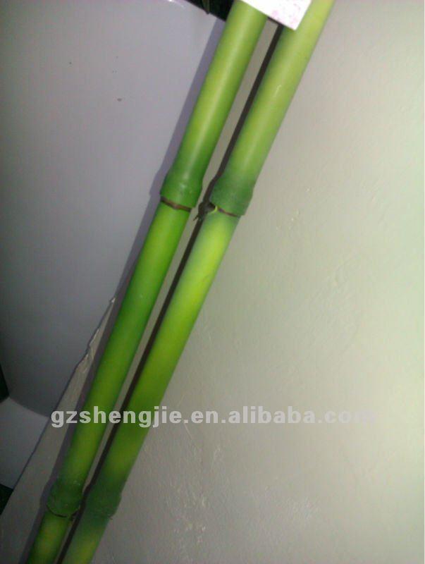 Sj piccolo artificiale bambù decorative bastone finto