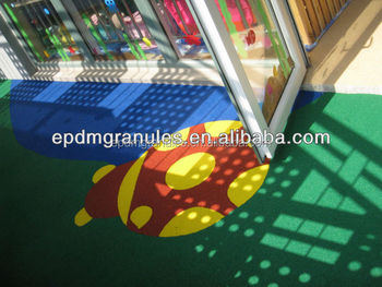 rubberized wetpour playgrounds surfaces