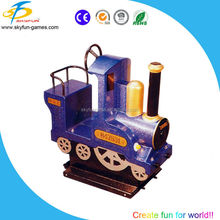 coin operated train kiddie ride/electric mini train amusement kiddie rides for sale