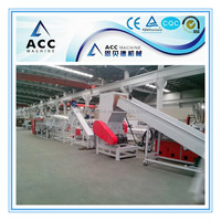 PP PE plastic film washing and recycling line