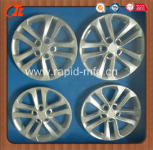 wheel cover car parts aluminium rapid prototype
