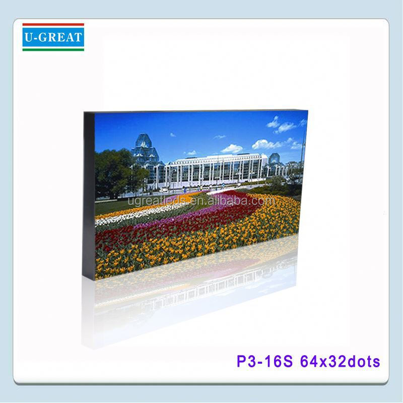 P3 SMD2121 true color 3mm smd indoor led display screen